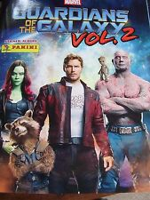 PANINI MARVEL GUARDIANS OF GALAXY 2 STICKER BOOK ALBUM WITH 6 STICKERS