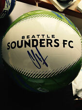 CLINT DEMPSEY SEATTLE SOUNDERS FC SIGNED AUTOGRAPDED FULL SIZE BALL