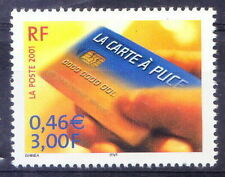 France 2001 MNH, Smart card, Invented by Giesecke & Devrient of Germany, Science