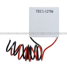 10Pcs TEC1-12706 Heatsink Thermoelectric Cooler Peltier Cooling Plate 12V 60W