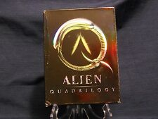 Alien Quadrilogy (2003, 9-Disc Dvd Set) Ridley Scott, Sigourney Weaver