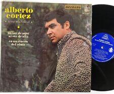 ALBERTO CORTEZ La Voz De La Amistad LP G+ vinyl plays ok Hispavox