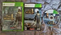 Two Worlds II 2 Complete CIB Microsoft Xbox 360 Game Tested Free Shipping