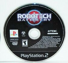 Robotech: Battlecry (Sony PlayStation 2, 2002) Ps2 Video Game