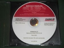 CASE FARMALL 85C 95C 105C 115C TRACTOR SERVICE SHOP REPAIR BOOK MANUAL OEM CD