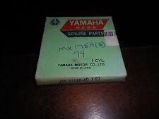NOS Yamaha OEM 1974 1975 MX175 Piston Rings 1.00 455-11610-40