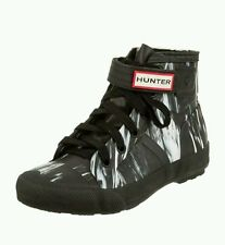 NEW HUNTER ORIGINAL NIGHTFALL HIGH TOP RAINBOOTS BOOTS SHOES SIZE 8