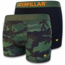 CAT® CATERPILLAR Herren Boxer Shorts Camouflage Retro Short Unterhose M L XL XXL