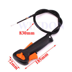 Strimmer Trimmer Brush Brush Cutter Handle Switch Throttle Trigger Cable FS120