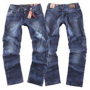 Timezone Herren Jeans Hose Eduardo TZ 3624 blue patriot wash Größe wählbar NEW