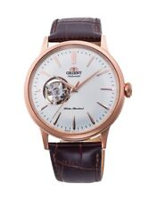 Orient Bambino Open Heart RA-AG0001S10A AG0001S Open Heart Rose-Gold Tone Watch