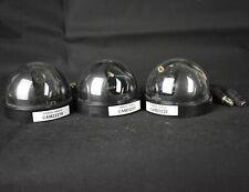 Job Lot 3 x Unknown Dome Cctv Security Surveillance Cameras Bundle Business