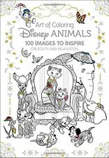 Coloring Book for Adult Disney Animals Creativity Art Drawing Craft Hobbies Gift