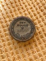 Rare Vintage 1930s Art Deco Max Factor Dry Rouge Hollywood