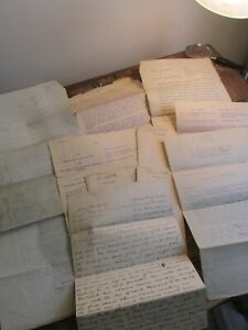 Antique Ephemera Lot 1800s Cazenovia Canastota  Railroad Paper Documents NY