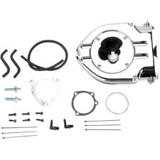 CROMO Hypercharger Filtro de aire Kit Late Modelo Harley-Davidson Listado
