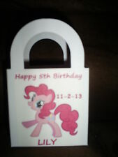 My Little Pony Birthday Party pack 12 Favor Boxes Free Personalization