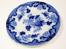 Antique Candia Flow Blue 10 1/4 Dinner Plates Cauldon England c.1905-1920