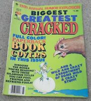 CRACKED MAGAZINE BIGGEST GREATEST 13TH comedy comic book humor FUNNY vintage OLD