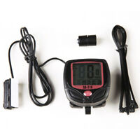 Waterproof Bicycle Odometer Speedometer Cycling Speed Meter MTB Bike LCD Display