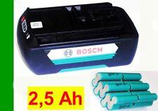 Zellentausch für  Bosch Akku 36 V 1,3 Ah   mit  2,5 Ah Samsung Zellen- 2500 mAh