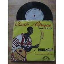 MOUANGUE ET SON ENSEMBLE AFRICAIN - Chants D'Afrique Rare French EP Cameroun
