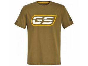 New 2021 BMW R1250 GS Logo T-Shirt Men's Olive Green #76617923088