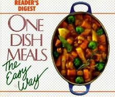 (s18) Reader's Digest - One Dish Meals The Easy Way. Great copy