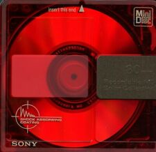 New listing 3 Sony Md Mini Discs. unused in individual factory wrapped packaging