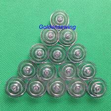 15 PCS BOBBINS Plastic for Singer 6235 6250 6251 6267 6268 7000 7005 7027