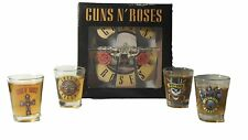 Guns N Roses Emblems Rock Star 2 oz. Shot Glasses Gift Set of Four 4