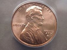 1975D ANACS MS67 LINCOLN CENT