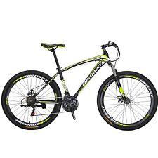"""Mountain Bike 27.5"""" Front Suspension Disc Brake Mens Bicycle Shimano 21 Speed"""