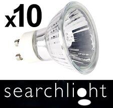 TEN PACK - GU10 Halogen Bulbs. Searchlight Branded. 35watt. Warm White.