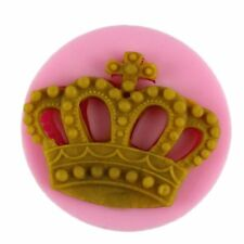Crown King Queen Princess Silicone Soap mold Candy Chocolate Fondant Tray Mould