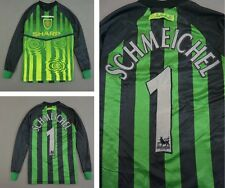 US/ 1997-98 UMBRO Manchester United Goalkeeper GK Shirt SCHMEICHEL 1 SIZE L.Boys