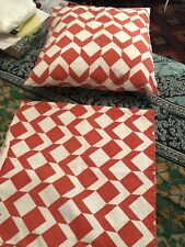 Two Country Road pillow covers