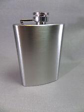 ANGELO Flachmann CHROM SATINIERT - 5 oz/150 ml - NEU - 49012A/SP