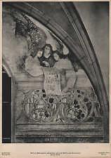 Lithografie: Fotografie, Malerei, Fresko, Martin Schongauer, Engelchor auf dem.