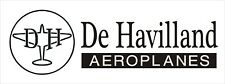A177 De Havilland Airplane banner plane hangar garage decor Aircraft signs