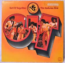 Jackson Five 5 Get It Together DJ White Label Promo LP EX+ Motown Soul Michael