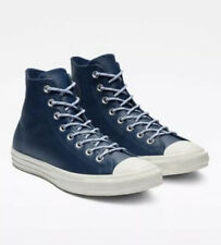 Converse Blue Leather Athletic Shoes