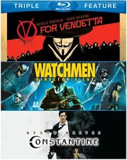 V for Vendetta & Watchmen & Constantine [New Blu-ray]