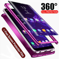 360 Protect Full Body Case for Samsung Galaxy S9 Plus Cover+3D Screen Protector