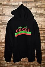 Gucci authentic sweatshirt hoodie Gucci Original Print size M