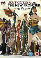 JUSTICE LEAGUE THE NEW FRONTIER COMMEMORATIVE EDITION [DVD] [2017][Region 2]