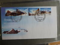 AUSTRALIA 2013 AAT MOUNTAINS SET 4 STAMPS CASEY FDC FIRST DAY COVER