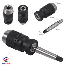 Mandrin de tour sans clé 16 mm MK2 pour tour CNC fraisage perceuse à colonne