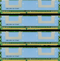 16GB KIT 4X4GB DELL PRECISION WORKSTATION 690 T5400 T7400 RAM MEMORY FBDIMM