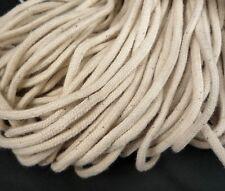 10yd / 9 mts Beige Cotton Cord Rope String Drawstring Wrap 3.5mm CC3